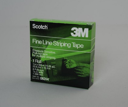 Fine Line Striping Tape 25.4mm