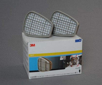Packet Of 2 Gas And Vapour Filter A2