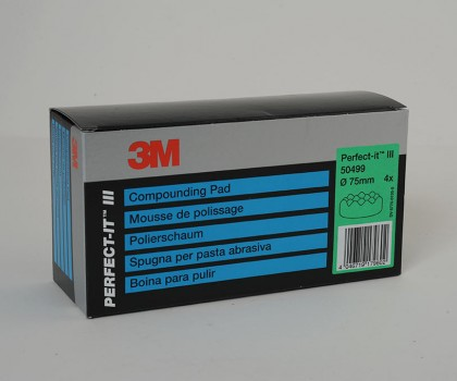 3m Compounding Pad 75mm