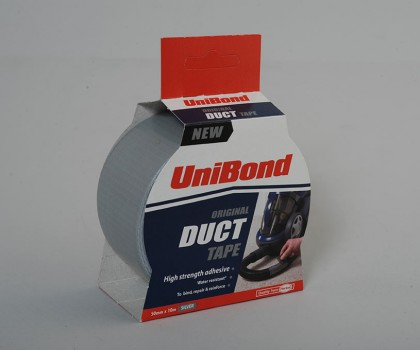 Unibond Duct Tape 50mm X 10m Silver