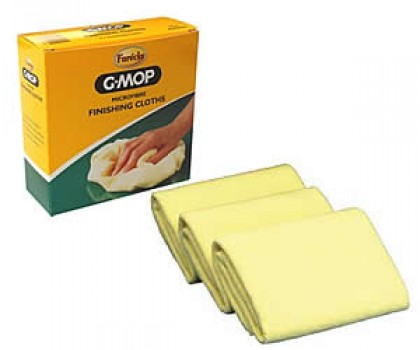 3 Pk Of Yellow Farecla Cloths