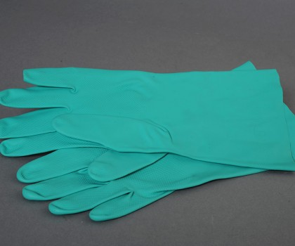 Med Green Gloves Ntrile