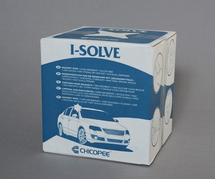 Solvent Wipe 250 Sheets