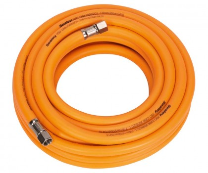 Air Hose 10mtr Orange Hi Vis
