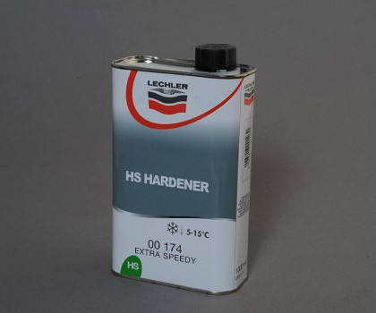 Hs Extra Fast Low Bake Air Dry Hardener