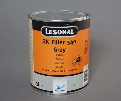 Filler 540 Grey 3lt