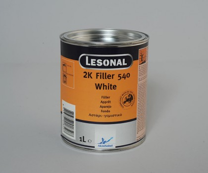 2k Filler 540 White 1 Lt