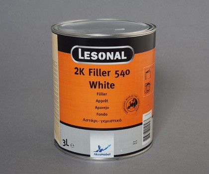 Filler 540 White 3lt