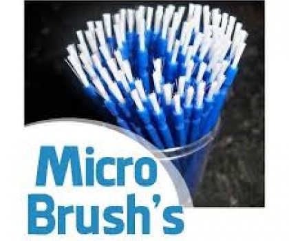 Blue Microbrush 2.0mm Pk 100