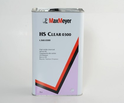 High Solids Clearcoat 5lt