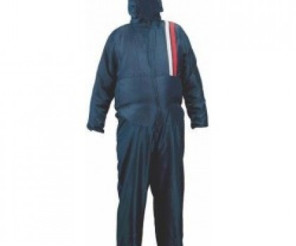 Blue Nylon Overall Extra Large