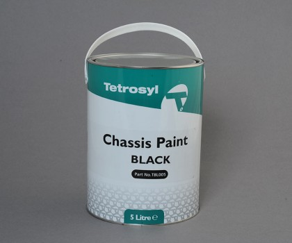 Black Chassis Paint 5lt